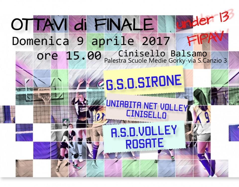 OTTAVI FINALE U13 09.04.17
