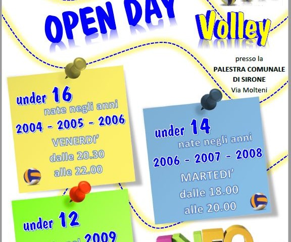 open day gso sirone